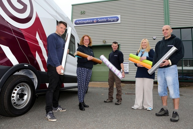 Graphics company has designs on growth thanks to Business Wales