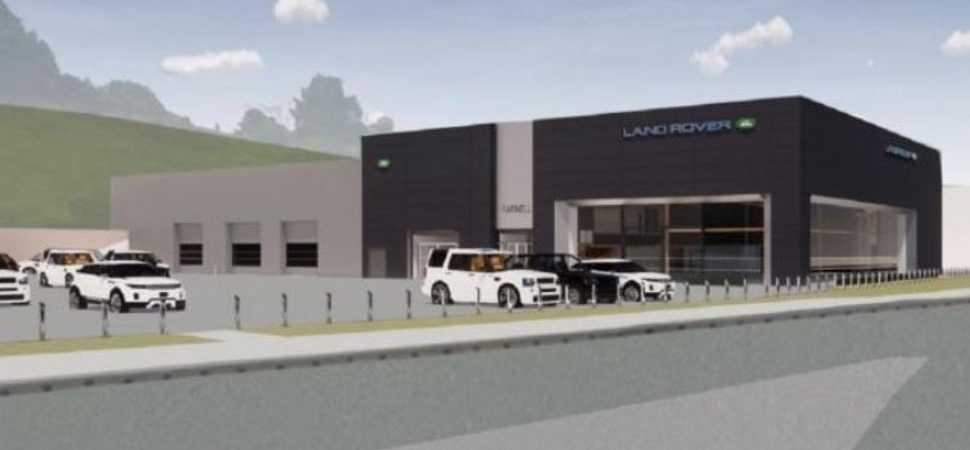 Major investment works start at Farnell Land Rover Bradford
