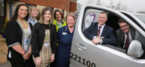 Vertu Toyota Chesterfield hands over new van to Ashgate Hospicecare