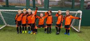 Wealth management company kicks-off a new sponsorship deal with a grassroots club to provide 40 new kits
