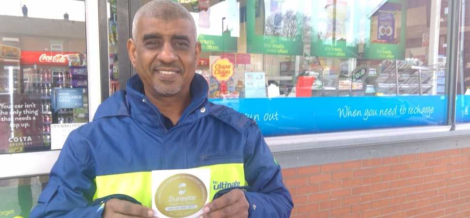 Audenshaw forecourt named H&S hero
