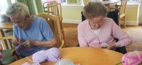 Hamilton care home is branching out with yarn bombs