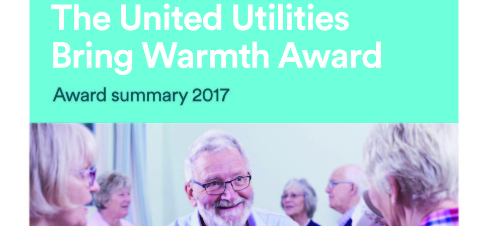New community funding award launched by United Utilities