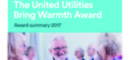 United Utilities brings warmth with new funding award