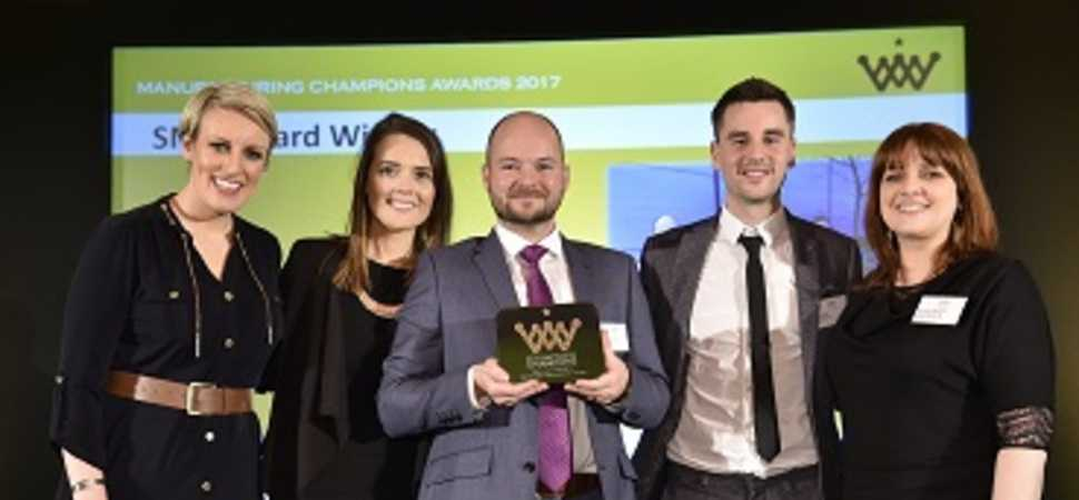 North East manufacturer Elfab wins champions award for SME innovation