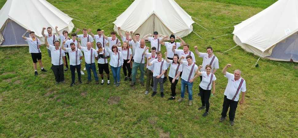 adi apprentices engineer the future of tomorrow with special away camp