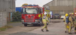 Chemical incident drill takes place in Cannock