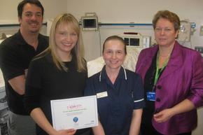 Axon Raises Funds for Macclesfield Neonatal Unit