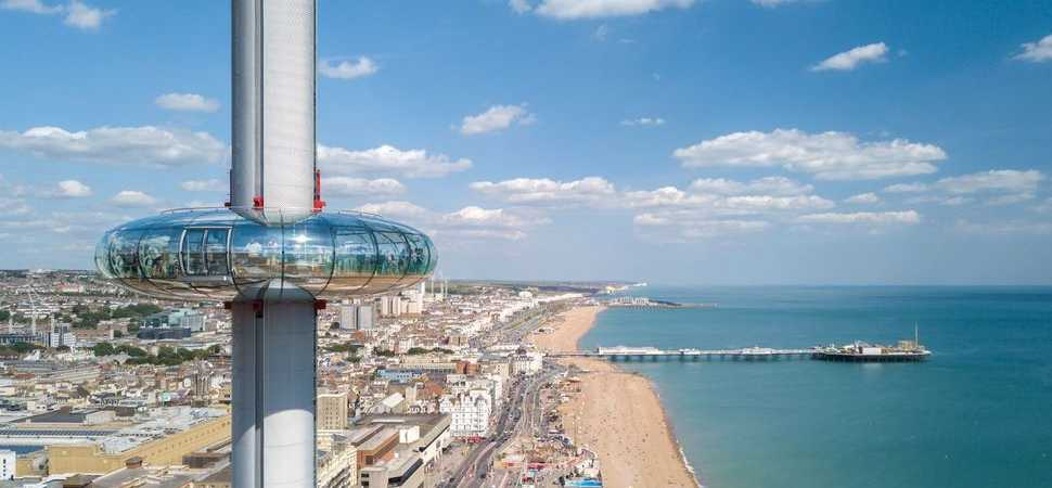 British Airways i360 and Curve IT celebrate three years of connectivity at 138 metres