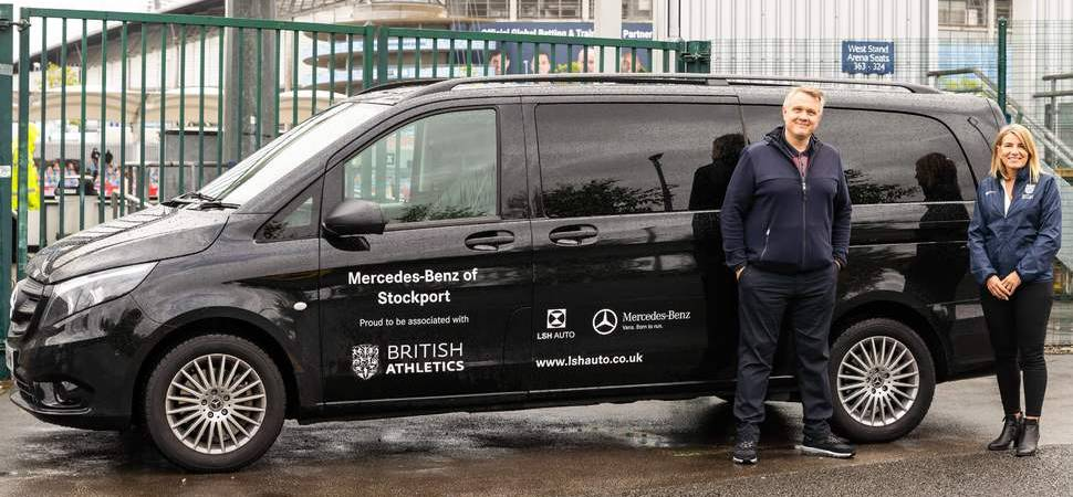 LSH Auto UK announced as British Athletics Official Van & Car Supplier