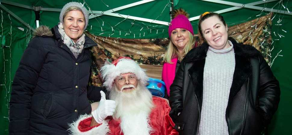 Swindon community in high spirits at festive event