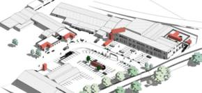Container, cafe and rooftop terrace plans approved for Newcastle business park