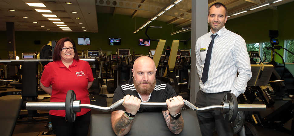 Sheffield veteran thanks Duncan Bannatyne for health club membership and aims to support others living with PTSD