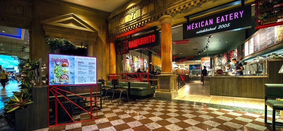Barburrito turns up the heat with in-store displays from Yorkshire-based Leach