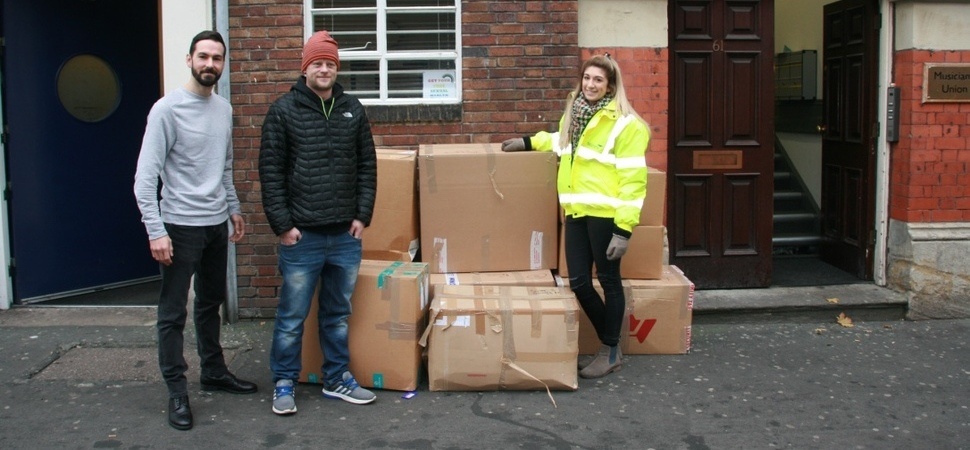£10K of Warm Clothing Donated to Local Homelessness Projects