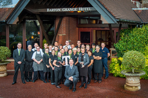 The Barton Grange Hotel, Preston collects a duo of accolades