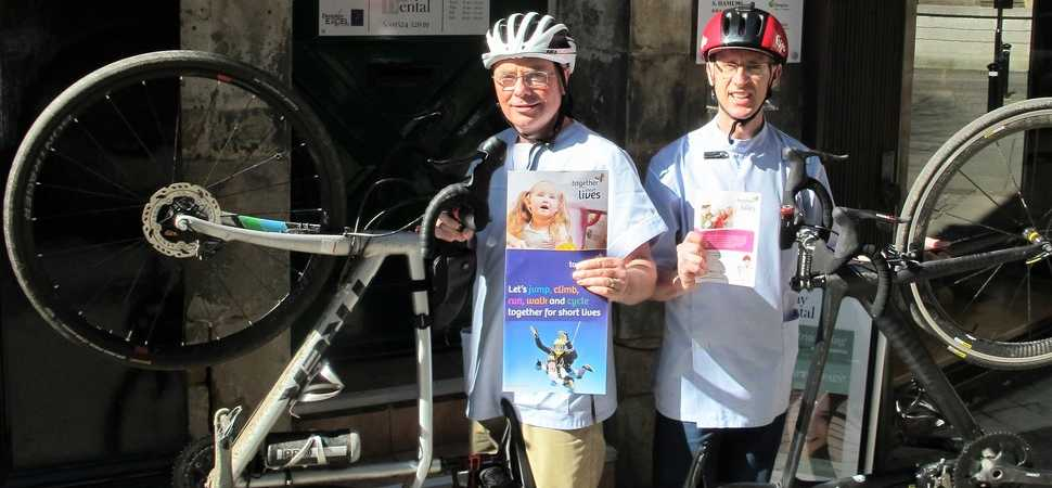Lancaster Based Dental Company to Complete 24 Hour Bicycle Race for Charity