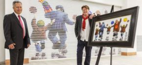 Artist Alexander Millar Heads To Tyneside for intu Eldon Square Exhibition