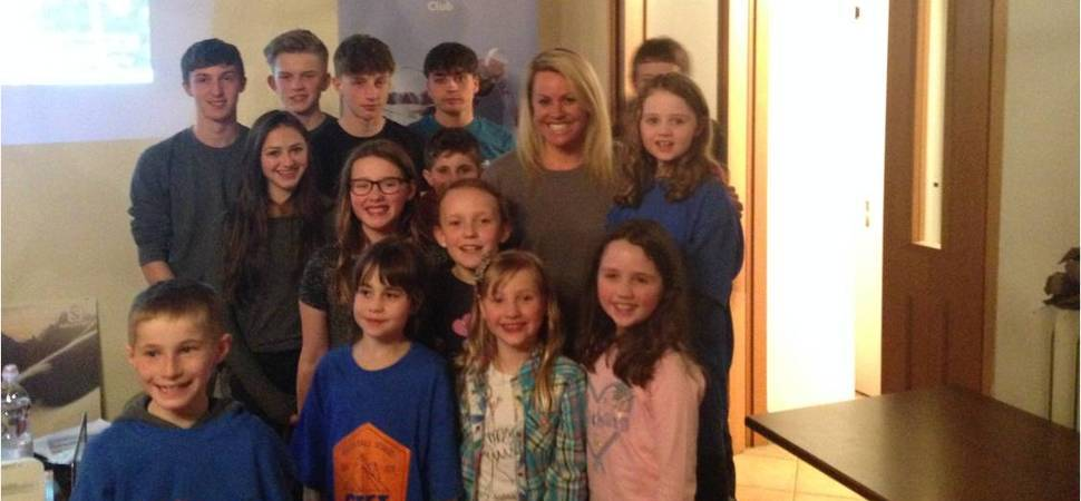 Beech Hall School Joined on the Slopes by Olympic Star
