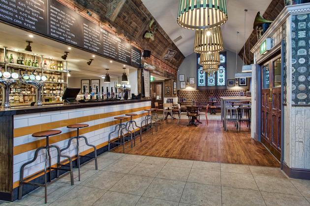 DV8 Designs Converts Former Pub Into Craft Beer Bar