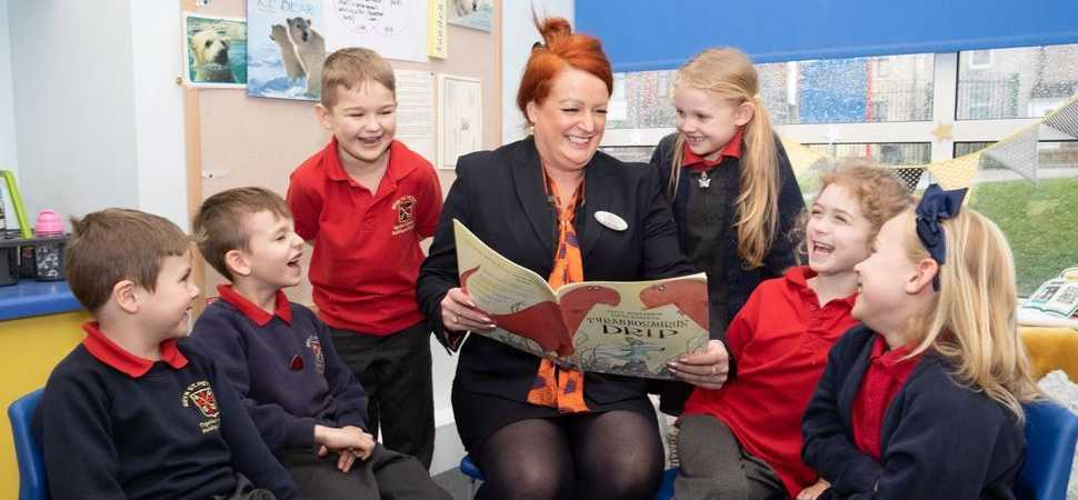 Bellway brings books to local primary school