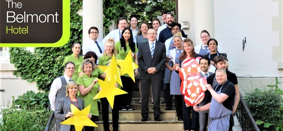 Belmont Hotel in Leicester Receives AA Four-Star Award and Two AA Rosettes