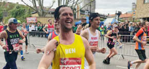 Marathon Men race home for hospice