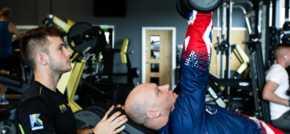 Veteran thanks Duncan Bannatyne for Eastbourne health club membership