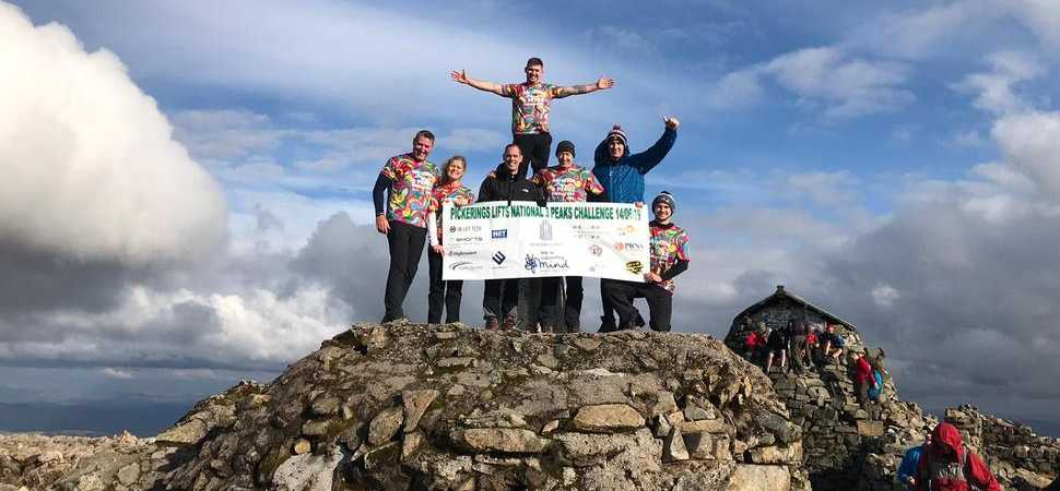 Manchester Eight take on Three Peaks challenge in aid of local mental health charity