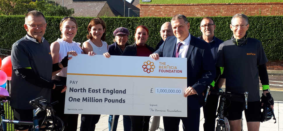 Two-wheel challenge heralds new £1m Bernicia charity