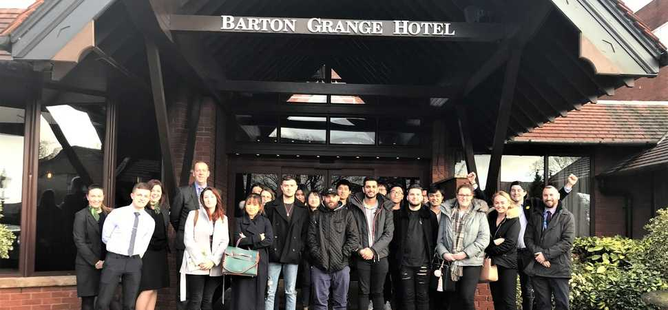 Preston's Barton Grange Hotel Invests in Education for Lancashire Students
