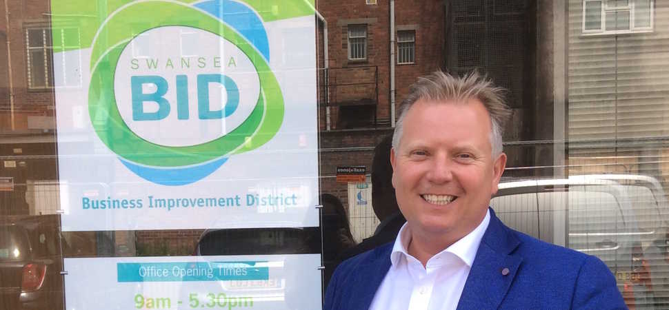 Swansea BID Chief Executive Looks Back on 10 Years with The Business Improvement District