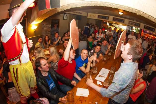 Raise a stein at Bierkeller this Oktoberfest