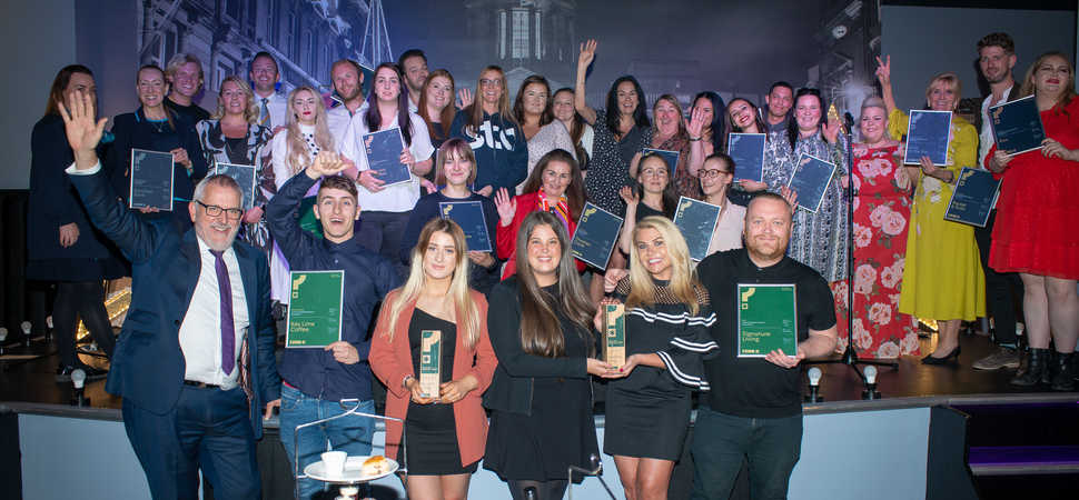 Spotlight shines on Liverpool's leading businesses at annual Mystery Shop Awards