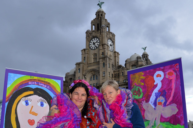 'Goddesses' pop up across the city on their way to Little Sista Festival