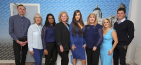 Bluerow Homes 'paint the town blue' in celebration of new office launch