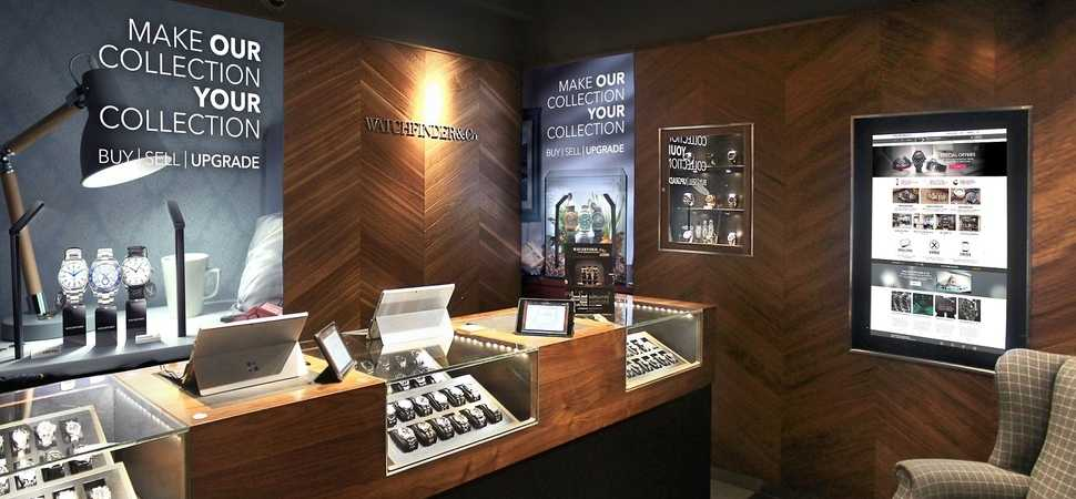 Graphic display specialist Leach appointed by national retailer Watchfinder