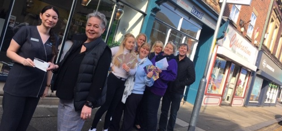 Blyth shops come up with the goods to benefit local charity