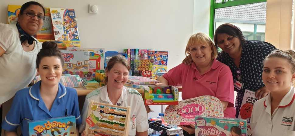 Bristol Street Motors Bolton spreads joy at childrens hospital