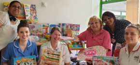 Bristol Street Motors Bolton spreads joy at childrens hospital