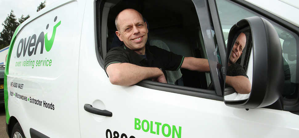 Ovenu Bolton owner celebrates top rated five-star reviews