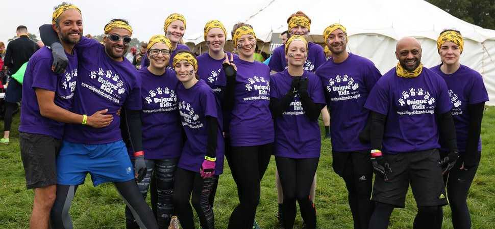 Unique Kidz and Co Raise Over £6k at Born Survivor
