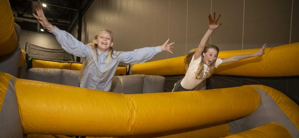 The UK's biggest inflatable theme park is coming to Leicestershire
