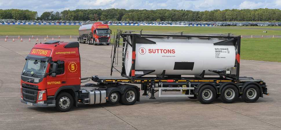 Logistics specialist Suttons showcases safety and innovation commitment