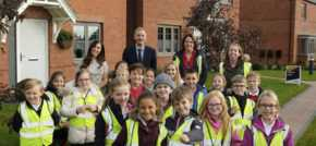 Avant Homes teaches school children about housebuilding health and safety