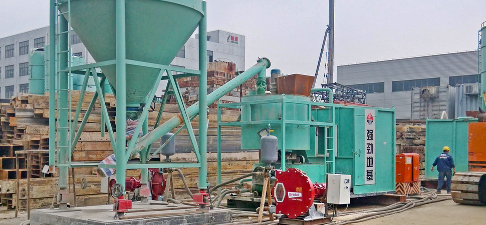 Watson Marlow Bredel Hose Pumps To Replace Piston Pumps On Cement Slurry Project