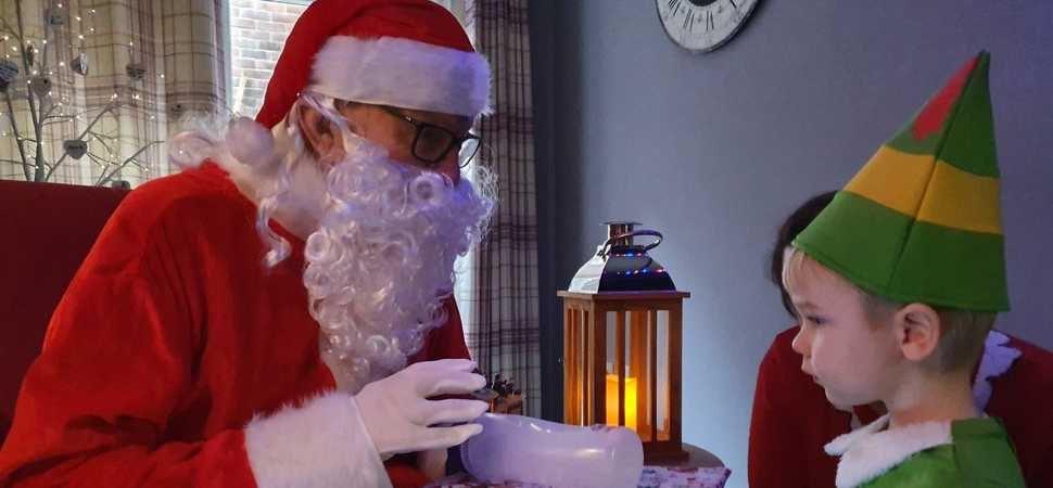 When Santa came to Sevenoaks  Care home resident brings magic of Christmas to local community