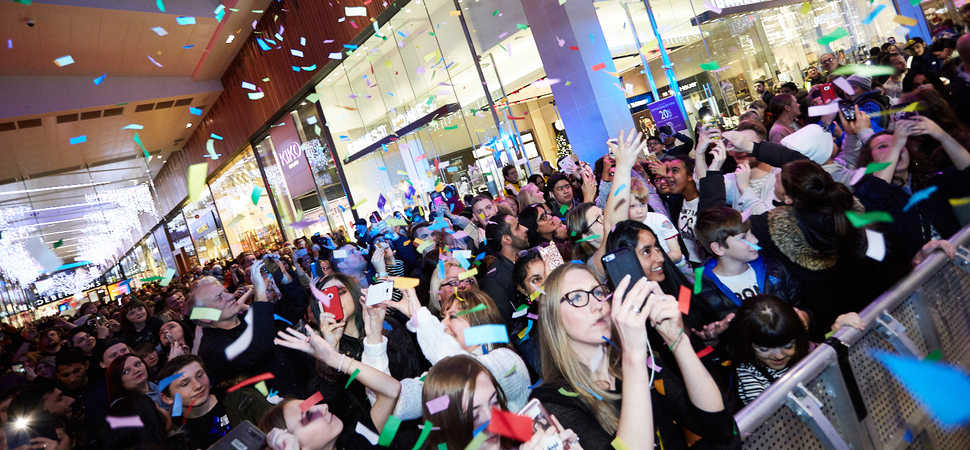 Thousands Show Up For Broadway's Festive Launch