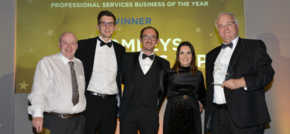 Bromleys triumphs at Pride of Tameside Business Awards