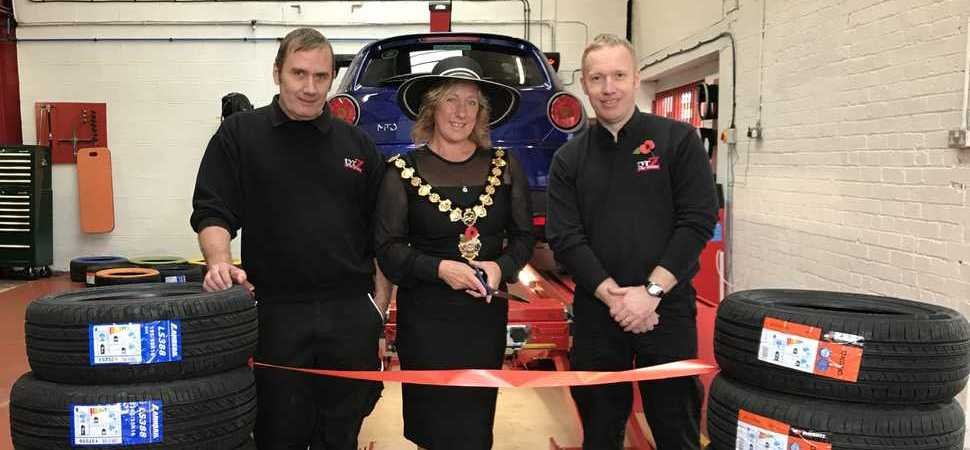 TyrZ officially launches Congleton branch with mayoral opening